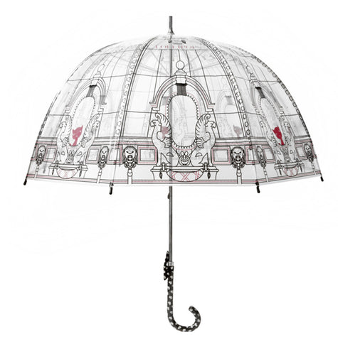 Parapluie transparent canne Lollipops Sopera - Parapluies de filles
