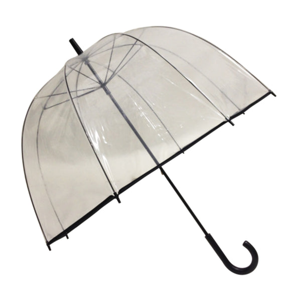 Grand parapluie transparent Susino Big Cloche - Parapluies de filles