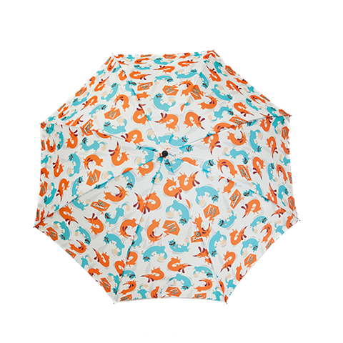 Parapluie pliant Dandyfrog It's raining cats and dogs - Parapluies de filles