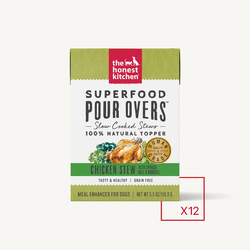 The Honest Kitchen Super Food Pour Overs Chicken