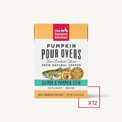 The Honest Kitchen Pumpkin Pour Overs Salmon