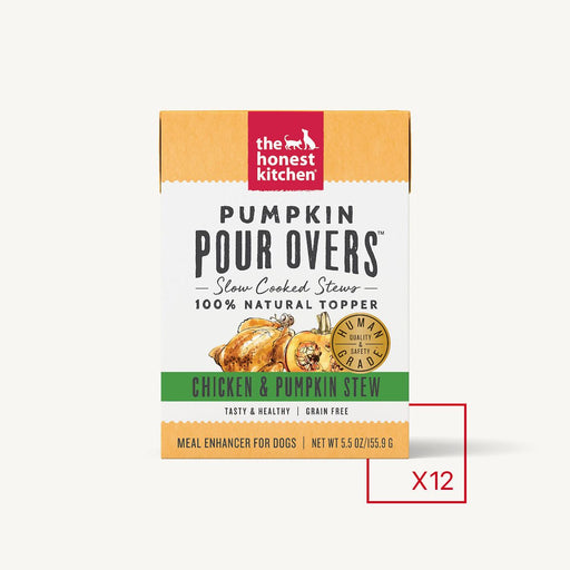 The Honest Kitchen Pumpkin Pour Overs Chicken
