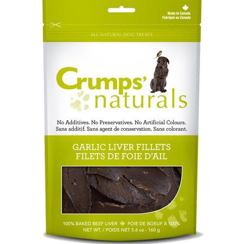 Crumps Garlic Liver Fillets Dog Treats