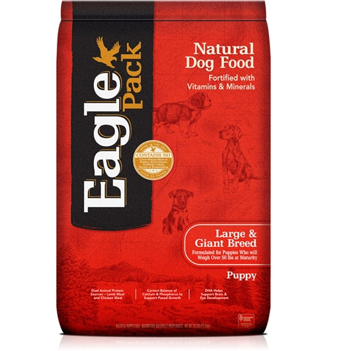 Eagle Pack Natural Dog Food Large & Giant Breed Puppy Formula