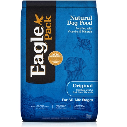 Eagle Pack Natural Dog Food Original Chicken Meal & Pork Meal Formula