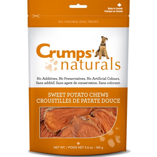 Crumps Sweet Potato Rawhide Dog Treats