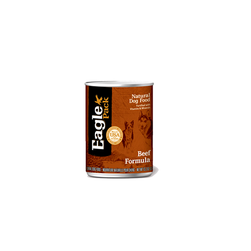 Eagle Pack Natural Canned Dog Food Beef Formula