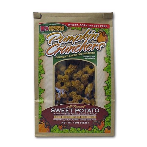 K9 Granola Factory Pumpkin Crunchers Sweet Potato Formula