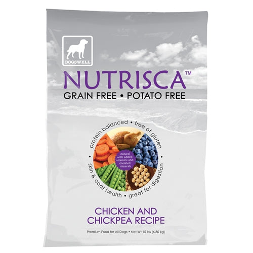 Dogswell Nutrisca Chicken and Chickpea Dry Dog Food