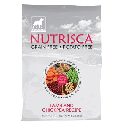 Dogswell Nutrisca Lamb and Chickpea Dry Dog Food