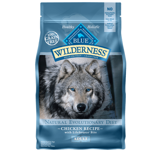 Blue Buffalo Wilderness Grain Free Chicken Dry Dog Food