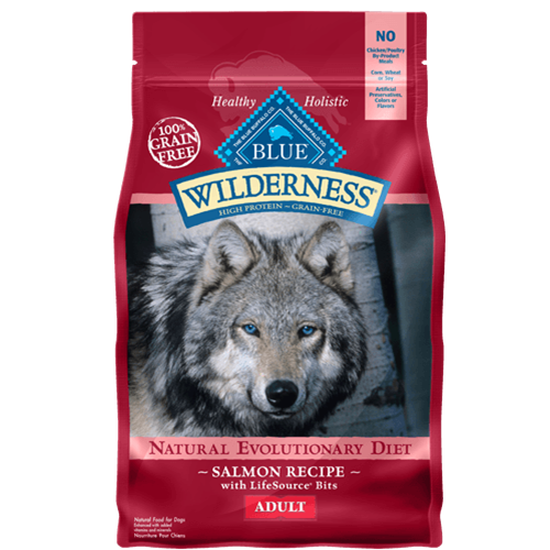 Blue Buffalo Wilderness Grain Free Salmon Dry Dog Food