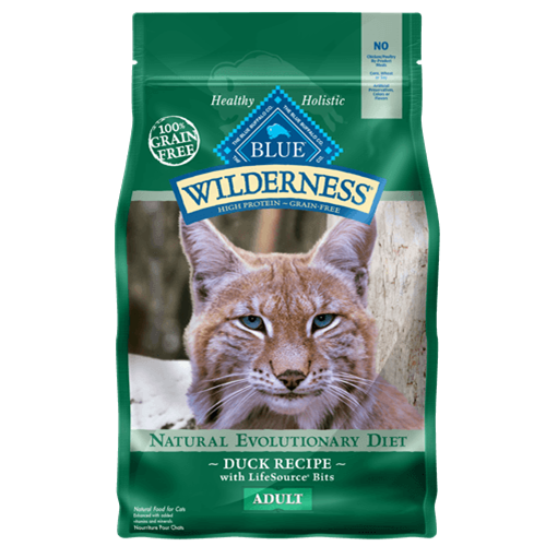 Blue Buffalo Wilderness Grain Free Duck Dry Cat Food
