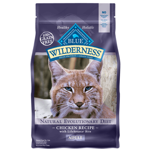 Blue Buffalo Wilderness Grain Free Chicken Dry Cat Food