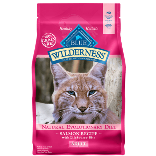 Blue Buffalo Wilderness Grain Free Salmon Dry Cat food