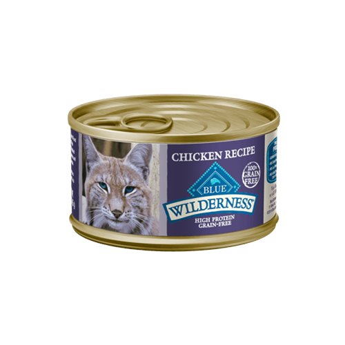 Blue Buffalo Wilderness Grain Free Chicken Can Cat Food
