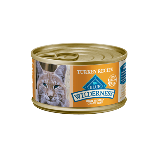 Blue Buffalo Wilderness Grain Free Turkey Can Cat Food