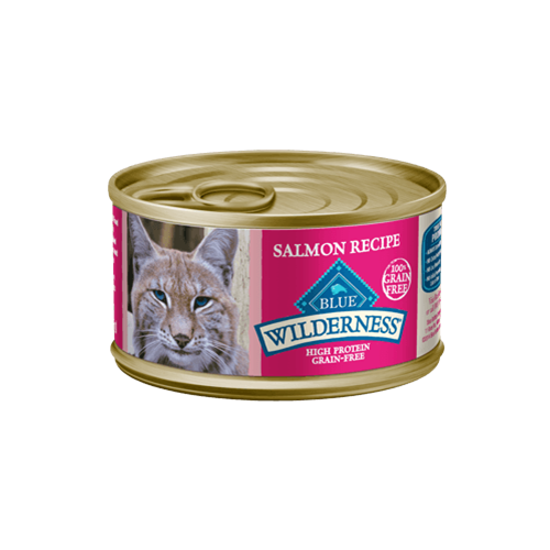 Blue Buffalo Wilderness Grain Free Salmon Can Cat food