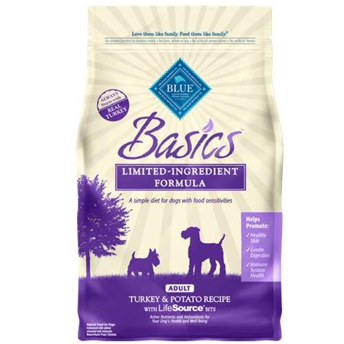Blue Buffalo Basics Turkey & Potato Adult Dry Dog Food