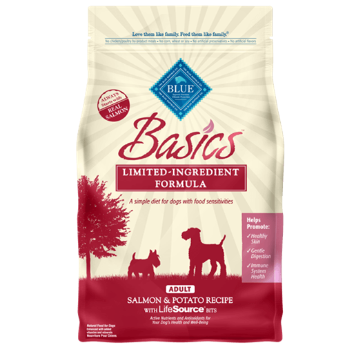 Blue Buffalo Basics Salmon & Potato Dry Dog Food