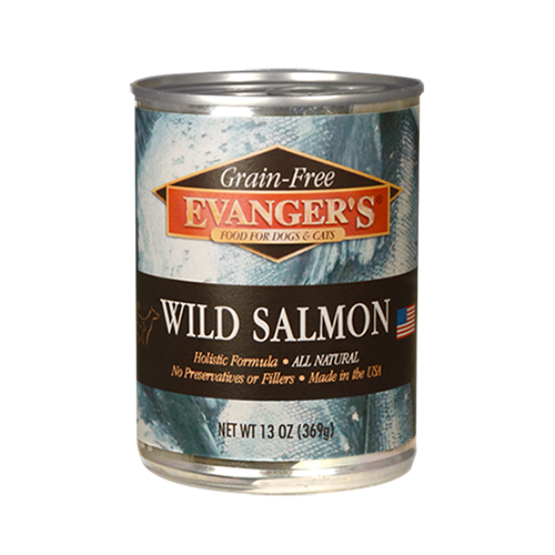 Evangers Handpacked Wild Salmon Canned Dog and Cat Food
