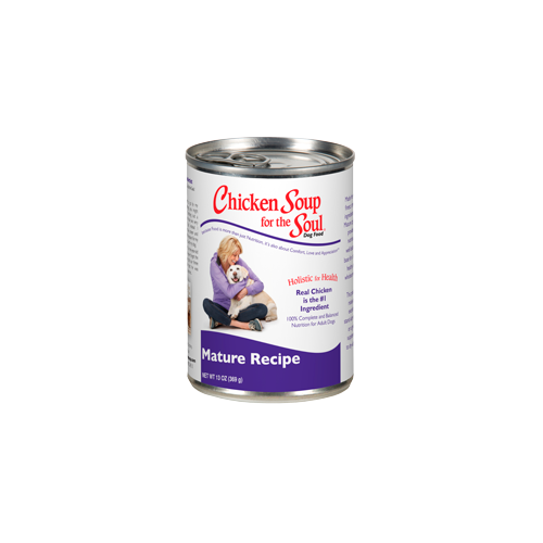 Chicken Soup for the Dog Lover's Soul MATURE Can Formula