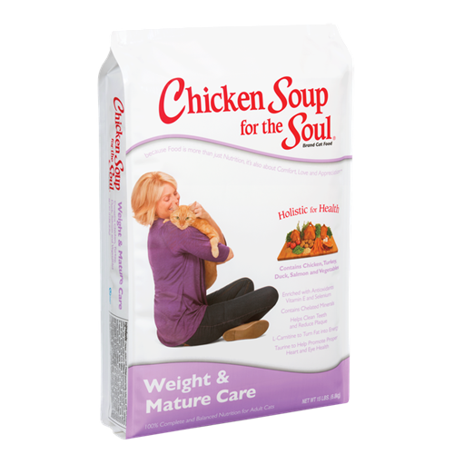 Chicken Soup for the Cat Lover's Soul WEIGHT & MATURE Formula