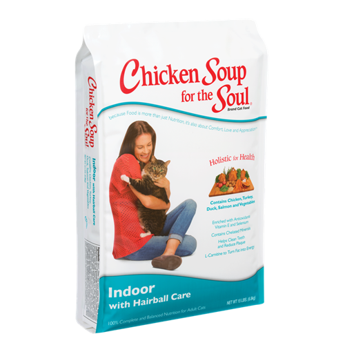 Chicken Soup for the Cat Lover's Soul INDOOR HAIRBALL Formula