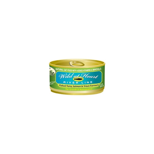 Precise Holistic Complete Wild at Heart River Salmon, Tuna and Trout Cat Cans