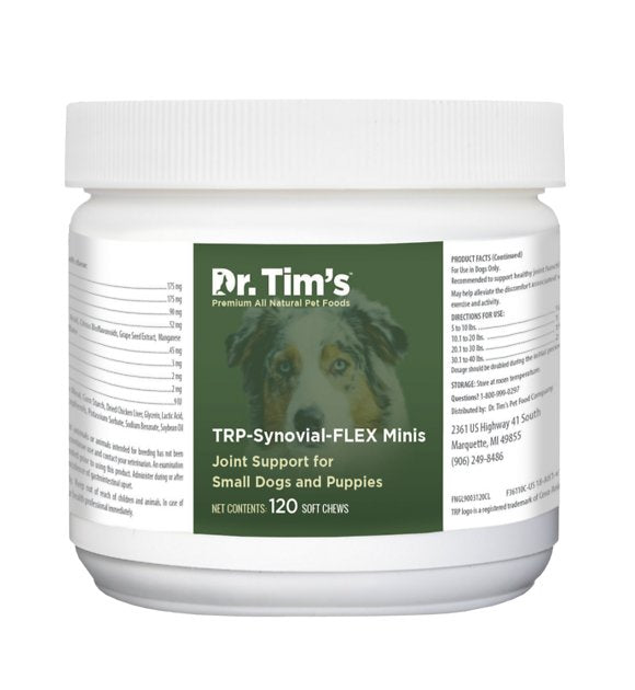 Dr. Tim's TRP-Synovial-FLEX Minis Small Breed & Puppy Joint Support Dog Supplement