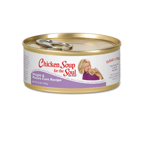 Chicken Soup for the Cat Lover's Soul WEIGHT & MATURE Can Formula