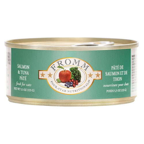 Fromm Four-Star Nutritionals®  Salmon & Tuna Pâté Food for Cats