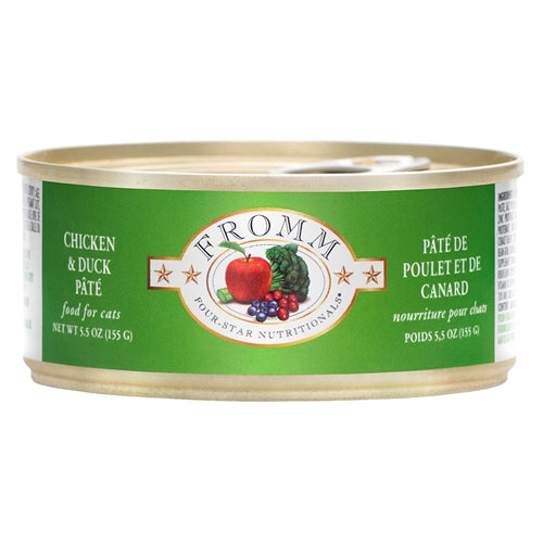Fromm Four-Star Nutritionals® Chicken & Duck Pâté Food for Cats