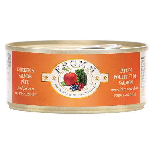 Fromm Four-Star Nutritionals® Chicken & Salmon Pâté Food for Cats