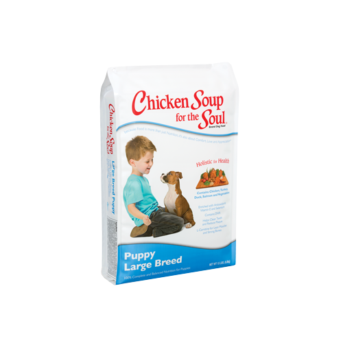 Chicken Soup for the Dog Lover's Soul LARGE BREED PUPPY Formula
