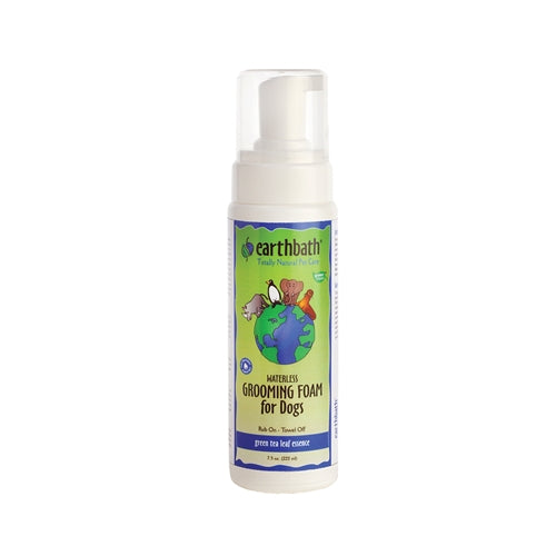 Earthbath Green Tea Grooming Foam for Dogs