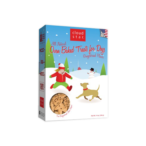 Cloud Star Original Holiday Buddy Biscuits Treats
