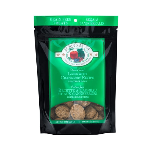 Fromm Four-Star Nutritionals® Lamb with Cranberry Recipe Treats for Dogs