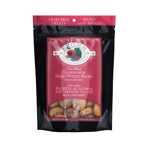 Fromm Four-Star Nutritionals®  Salmon with Sweet Potato Recipe Treats for Dogs