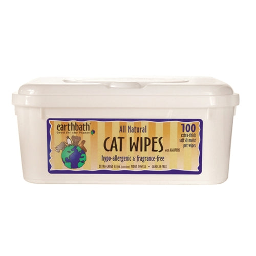 Eartbath Hypo-Allergenic Cat Wipes