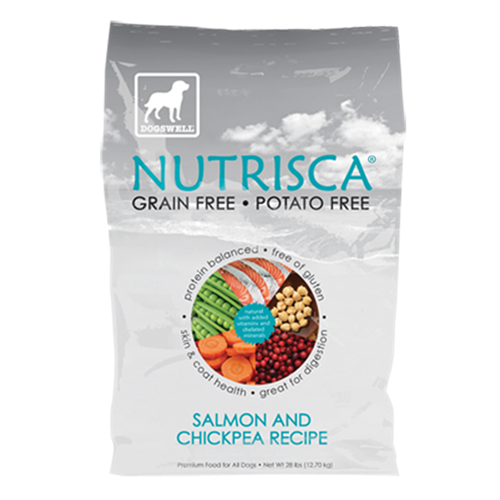 Dogswell Nutrisca Salmon and Chickpea Dry Dog Food