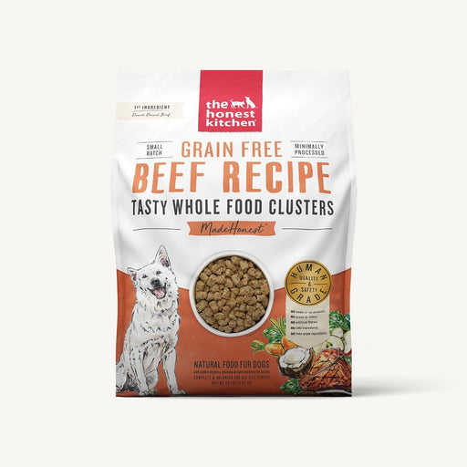 The Honest Kitchen Whole Food Clusters Grain Free Beef Dog
