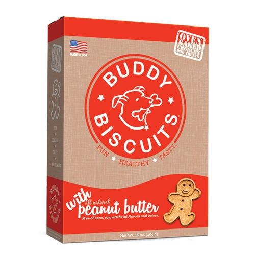 Cloud Star Original Buddy Biscuits - Peanut Butter