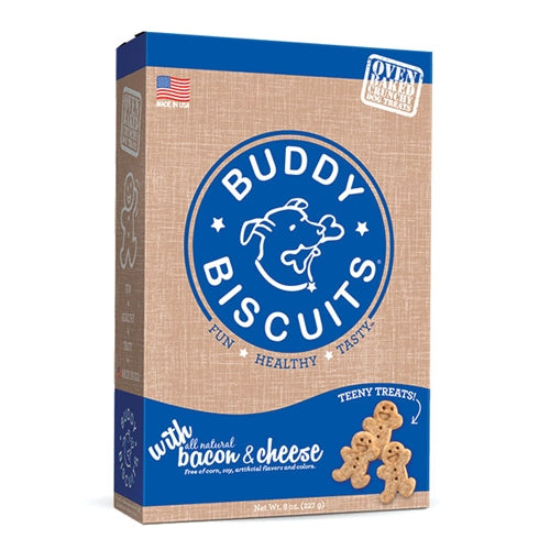 Cloud Star Teeny Buddy Biscuits - Bacon and Cheese