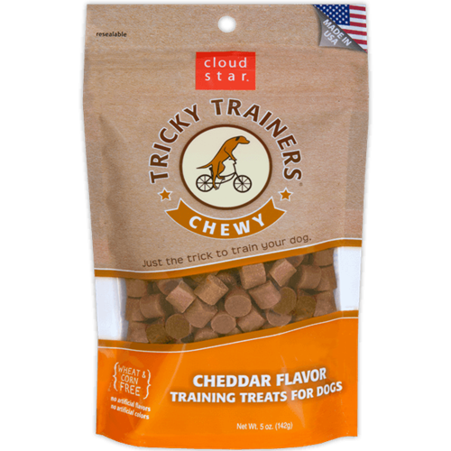 Cloud Star Chewy Tricky Trainers - Cheddar