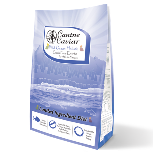 Canine Caviar Wild Ocean Grain Free All Life Stages Dog Herring Dinner