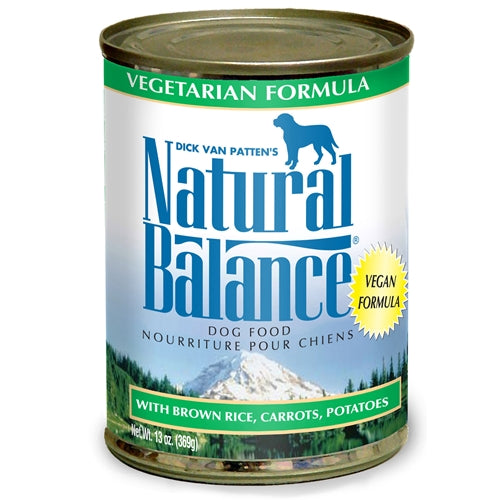 Natural Balance Vegetarian Canned Dog Food