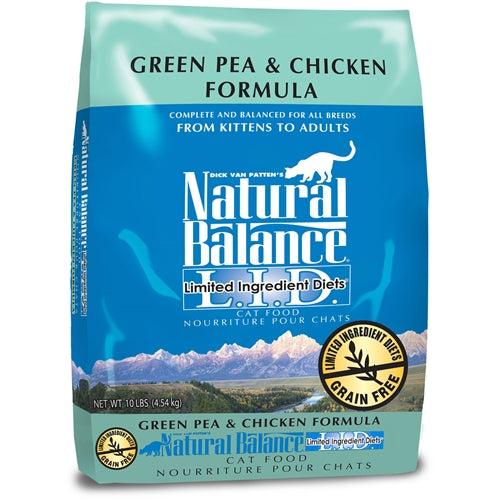 Natural Balance L.I.D. Green Pea and Chicken Formula for Cats