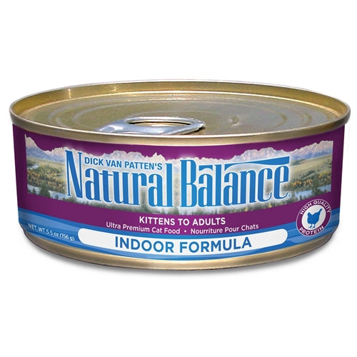 Natural Balance Indoor Ultra Premium Formula Canned Cat Food