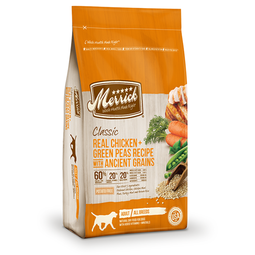 Merrick Classic Chicken and Green Peas with Ancient Grains Adult Dog Dry Formula